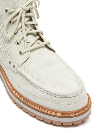 Detail View - Click To Enlarge - JACQUEMUS - 'Guarrigues' corduroy boots