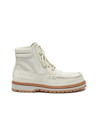 Main View - Click To Enlarge - JACQUEMUS - 'Guarrigues' corduroy boots