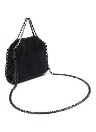 Figure View - Click To Enlarge - STELLA MCCARTNEY - 'Tiny Falabella' crystal embellished velvet bag