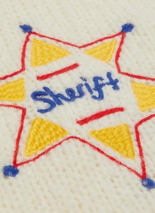 - MIRA MIKATI - Star embellished knit hoodie