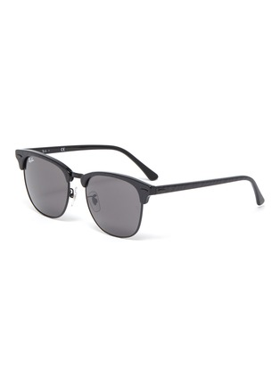 Main View - Click To Enlarge - RAY-BAN - 'Clubmaster' acetate square frame sunglasses