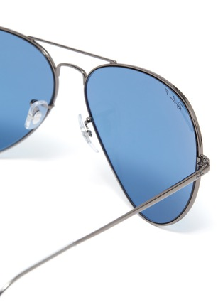 Detail View - Click To Enlarge - RAY-BAN - Classic metal frame aviator sunglasses