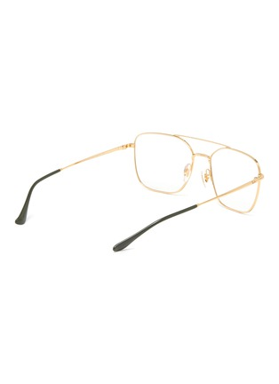 Figure View - Click To Enlarge - RAY-BAN - Metal square frame optical glasses