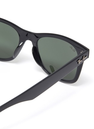Detail View - Click To Enlarge - RAY-BAN - 'Wayfarer' acetate square frame sunglasses