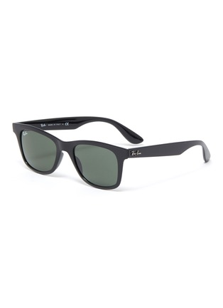 Main View - Click To Enlarge - RAY-BAN - 'Wayfarer' acetate square frame sunglasses