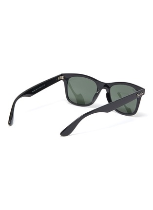 Figure View - Click To Enlarge - RAY-BAN - 'Wayfarer' acetate square frame sunglasses