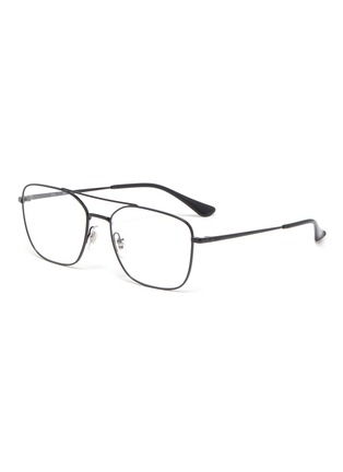 Main View - Click To Enlarge - RAY-BAN - Metal square frame optical glasses