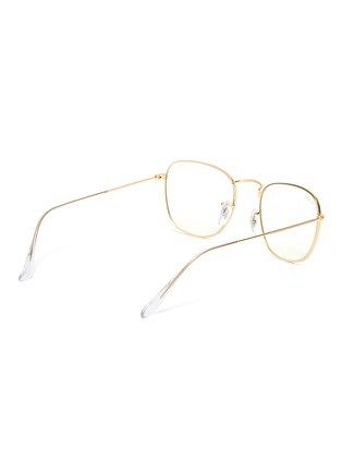 Figure View - Click To Enlarge - RAY-BAN - Metal angular frame optical glasses