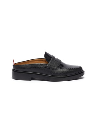 Main View - Click To Enlarge - THOM BROWNE - Slip on penny loafers