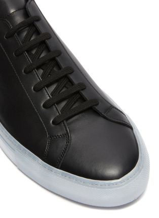 Detail View - Click To Enlarge - COMMON PROJECTS - 'Achilles Ice' lace up leather sneakers