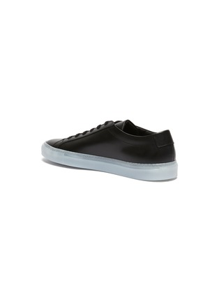 - COMMON PROJECTS - 'Achilles Ice' lace up leather sneakers