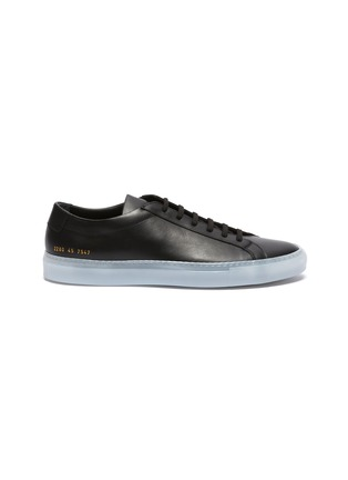 Main View - Click To Enlarge - COMMON PROJECTS - 'Achilles Ice' lace up leather sneakers