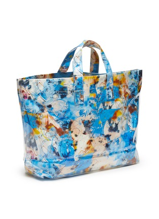 Figure View - Click To Enlarge - COMME DES GARÇONS SHIRT - x Futura multi-coloured graphic print tote bag