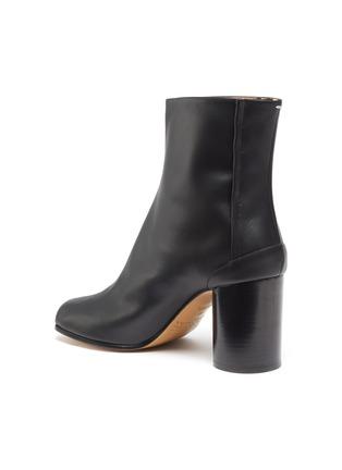 - MAISON MARGIELA - 'Tabi' tall leather ankle boots