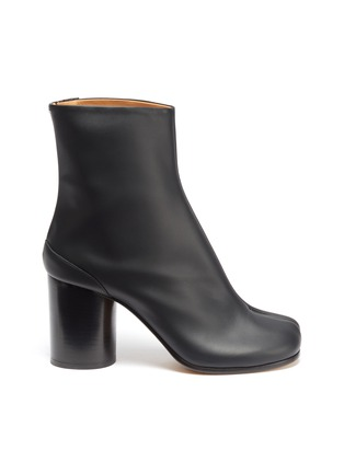 Main View - Click To Enlarge - MAISON MARGIELA - 'Tabi' tall leather ankle boots