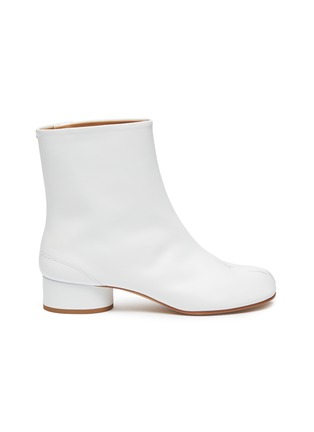 Main View - Click To Enlarge - MAISON MARGIELA - 'Tabi' leather ankle boots