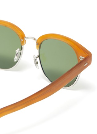 Detail View - Click To Enlarge - OLIVER PEOPLES ACCESSORIES - 'Cary Grant 2' sunglasses