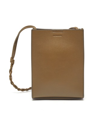 Main View - Click To Enlarge - JIL SANDER - 'Tangle' small leather messenger bag