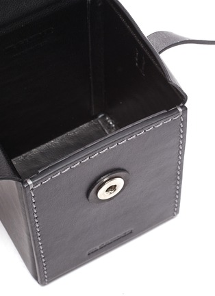 Detail View - Click To Enlarge - JIL SANDER - 'Box' leather crossbody bag