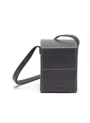 Main View - Click To Enlarge - JIL SANDER - 'Box' leather crossbody bag