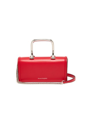 Main View - Click To Enlarge - ALEXANDER MCQUEEN - 'Story Book' leather shoulder bag