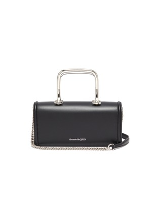 Main View - Click To Enlarge - ALEXANDER MCQUEEN - Story Book' leather shoulder bag