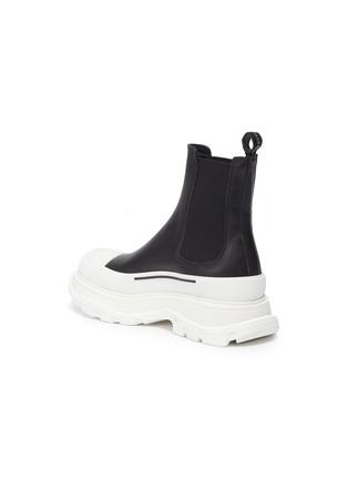 - ALEXANDER MCQUEEN - Chunky Outsole Cap Toe Chelsea Boots