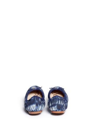 Back View - Click To Enlarge - Sam Edelman - 'Felicia' tie dye canvas ballet flats