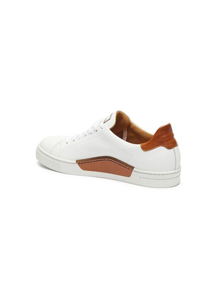 - MAGNANNI - 'Opanca' Low Top Grain Leather Sneakers