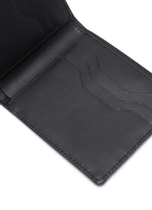 Detail View - Click To Enlarge - AU DÉPART - Geometric pattern bifold leather wallet