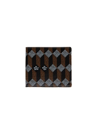 Main View - Click To Enlarge - AU DÉPART - Geometric pattern bifold leather wallet
