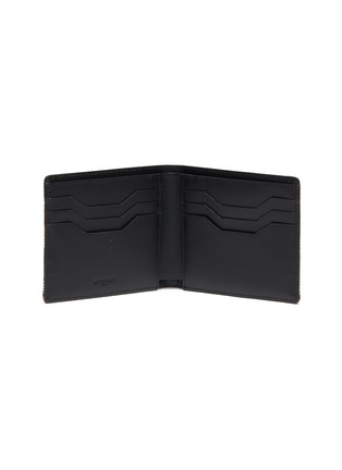 Figure View - Click To Enlarge - AU DÉPART - Geometric pattern bifold leather wallet