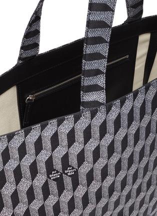Detail View - Click To Enlarge - AU DÉPART - 'Grande Europe' geometric pattern tote bag