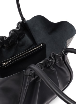Detail View - Click To Enlarge - PROENZA SCHOULER - Ruched leather tote