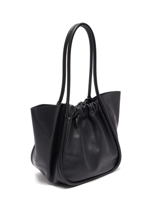 Figure View - Click To Enlarge - PROENZA SCHOULER - Ruched leather tote