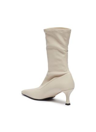 - PROENZA SCHOULER - Square toe stretch leather boots