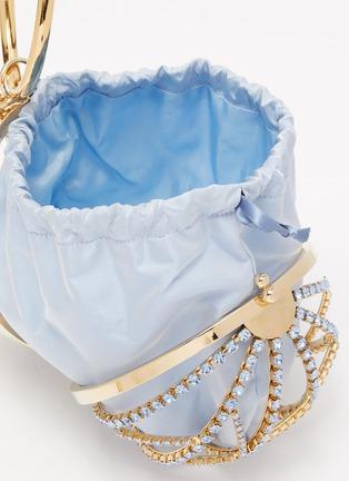 Detail View - Click To Enlarge - ROSANTICA - 'Alice' strass embellished sphere bag