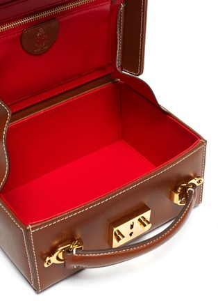 Detail View - Click To Enlarge - MARK CROSS - Grace Small Box' leather trunk