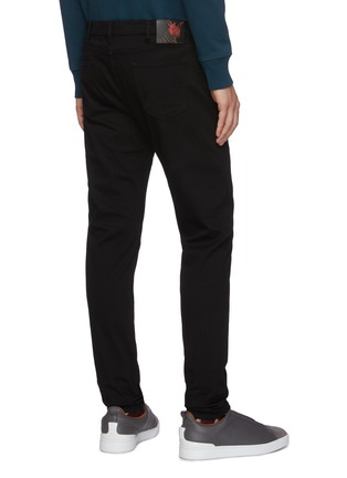 Back View - Click To Enlarge - PS PAUL SMITH - Unwashed slim fit jeans