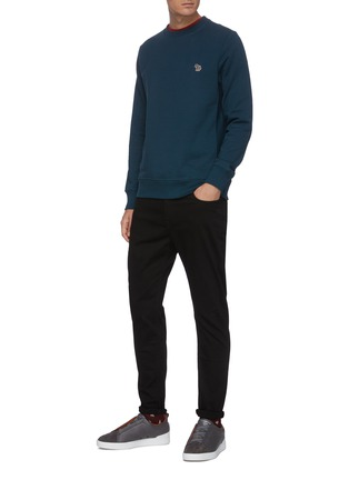 Figure View - Click To Enlarge - PS PAUL SMITH - Unwashed slim fit jeans