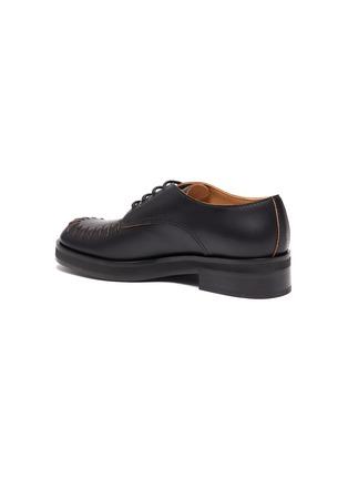 - JW ANDERSON - Topstitch Round Toe Derby Shoes