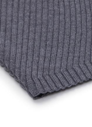 - THEORY - Twisted ribbed knit midi skirt