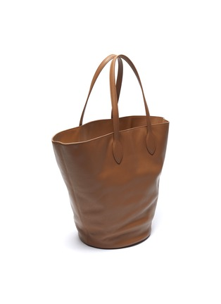 Detail View - Click To Enlarge - KHAITE - 'Osa' medium circlular leather tote