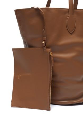 - KHAITE - 'Osa' medium circlular leather tote