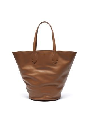 Main View - Click To Enlarge - KHAITE - 'Osa' medium circlular leather tote
