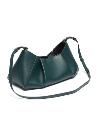 Back View - Click To Enlarge - KHAITE - 'Jeanne' small gathered leather crossbody bag