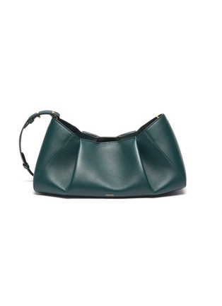 Main View - Click To Enlarge - KHAITE - 'Jeanne' small gathered leather crossbody bag