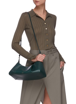 Figure View - Click To Enlarge - KHAITE - 'Jeanne' small gathered leather crossbody bag