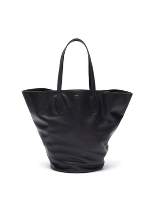 Main View - Click To Enlarge - KHAITE - 'Osa' medium circular leather tote