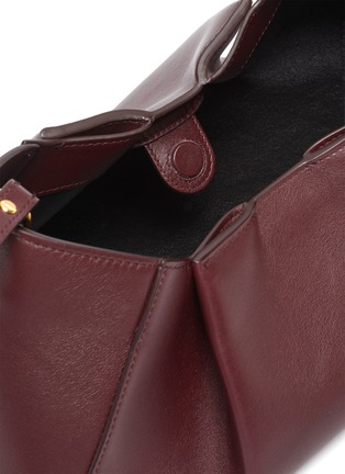 Detail View - Click To Enlarge - KHAITE - 'Jeanne' small gathered leather crossbody bag